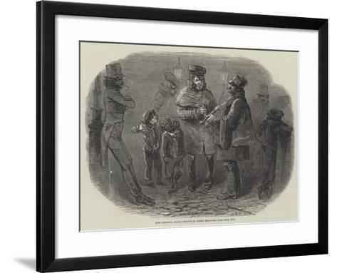 The Christmas Waits-Joseph Kenny Meadows-Framed Art Print