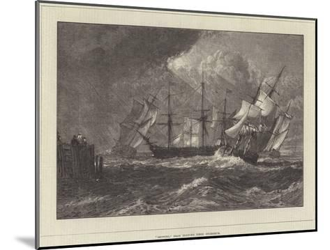 Shipping, from Turner's Liber Studiorum-J^ M^ W^ Turner-Mounted Giclee Print