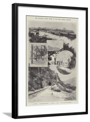 The Transvaal Crisis, Scenes in the South African Republic-Joseph Holland Tringham-Framed Art Print