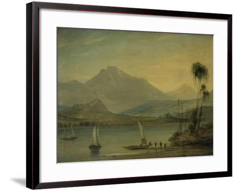 Loch Fyne, Herring Fishing-John Wilson Ewbank-Framed Art Print
