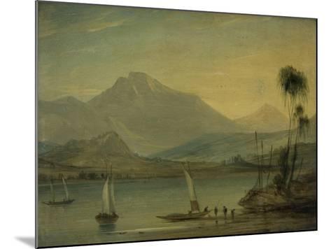 Loch Fyne, Herring Fishing-John Wilson Ewbank-Mounted Giclee Print