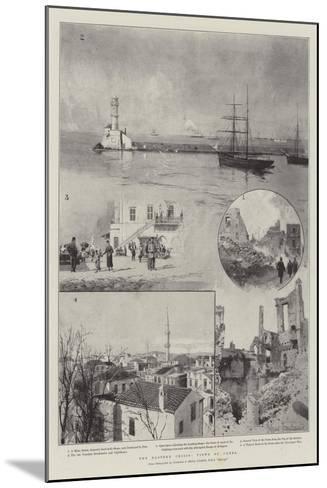 The Eastern Crisis, Views of Canea-Joseph Holland Tringham-Mounted Giclee Print