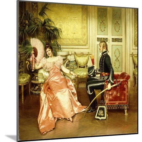 Flirtation-Joseph Frederick Charles Soulacroix-Mounted Giclee Print