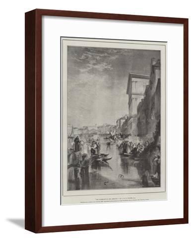 The Marriage of the Adriatic-J^ M^ W^ Turner-Framed Art Print