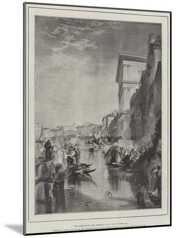 The Marriage of the Adriatic-J^ M^ W^ Turner-Mounted Giclee Print