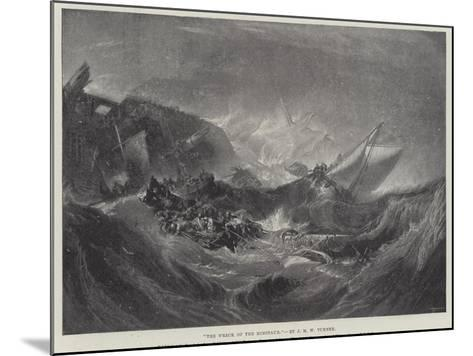 The Wreck of the Minotaur-J^ M^ W^ Turner-Mounted Giclee Print