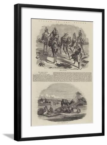 Scenes in the Desert-John Wykeham Archer-Framed Art Print