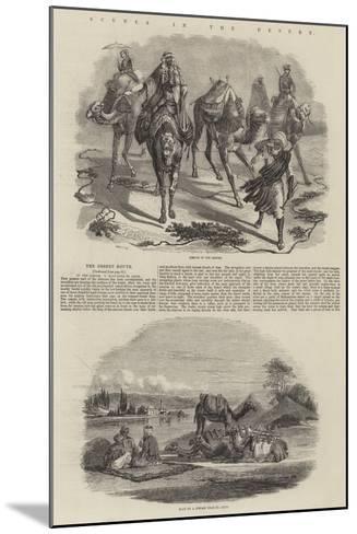 Scenes in the Desert-John Wykeham Archer-Mounted Giclee Print