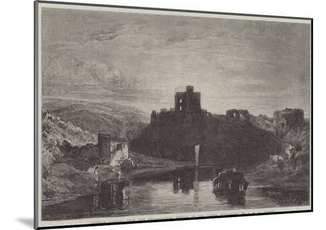 Norham Castle-J^ M^ W^ Turner-Mounted Giclee Print