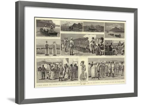 A Dhow Episode-Joseph Nash-Framed Art Print