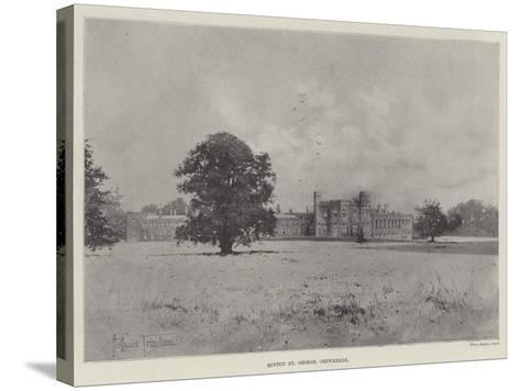 Hinton St George, Crewkerne-Joseph Holland Tringham-Stretched Canvas Print