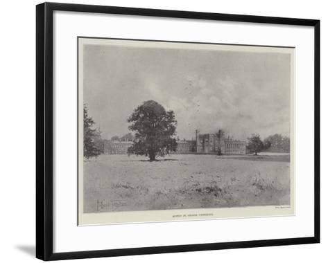 Hinton St George, Crewkerne-Joseph Holland Tringham-Framed Art Print