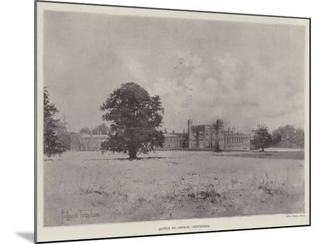 Hinton St George, Crewkerne-Joseph Holland Tringham-Mounted Giclee Print