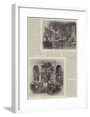 Progress of Domestic Art-Joseph Holland Tringham-Framed Art Print