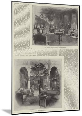 Progress of Domestic Art-Joseph Holland Tringham-Mounted Giclee Print