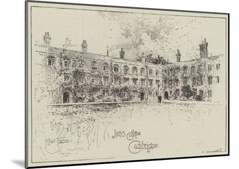 Jesus College, Cambridge-Joseph Holland Tringham-Mounted Giclee Print