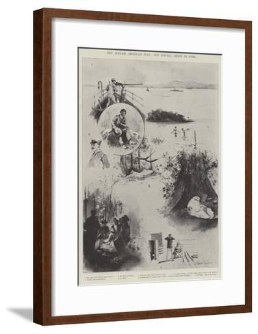 The Spanish-American War-Joseph Holland Tringham-Framed Art Print