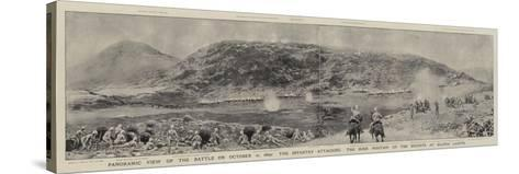 Panoramic View of the Battle on 21 October 1899-Joseph Nash-Stretched Canvas Print