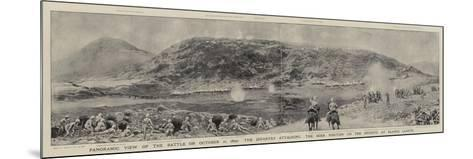 Panoramic View of the Battle on 21 October 1899-Joseph Nash-Mounted Giclee Print