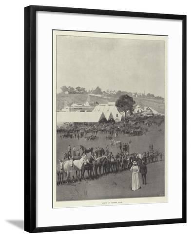 Scene at Barnet Fair-Joseph Holland Tringham-Framed Art Print
