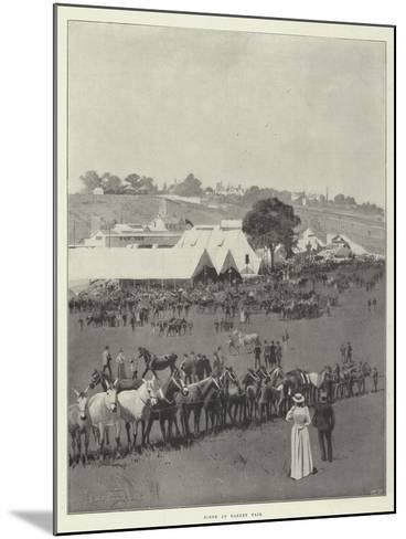 Scene at Barnet Fair-Joseph Holland Tringham-Mounted Giclee Print