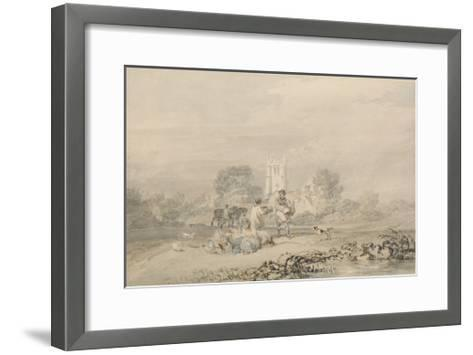 Autumn Sowing of the Grain, C.1794-J^ M^ W^ Turner-Framed Art Print