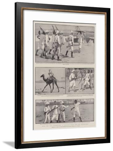 With the Nile Expedition, a Pleasure Party and its Adventures-Joseph Nash-Framed Art Print