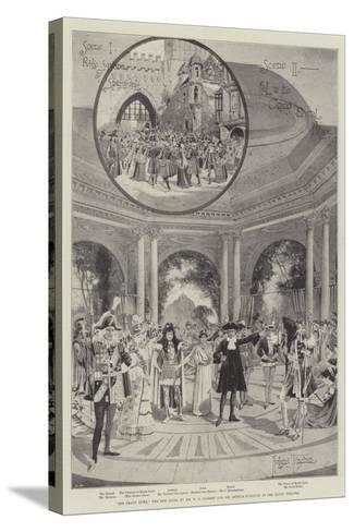 The Grand Duke, the New Opera by Mr W S Gilbert and Sir Arthur Sullivan at the Savoy Theatre-Joseph Holland Tringham-Stretched Canvas Print