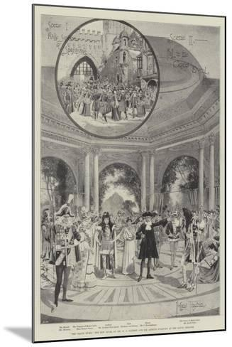 The Grand Duke, the New Opera by Mr W S Gilbert and Sir Arthur Sullivan at the Savoy Theatre-Joseph Holland Tringham-Mounted Giclee Print