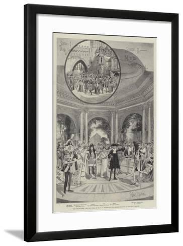 The Grand Duke, the New Opera by Mr W S Gilbert and Sir Arthur Sullivan at the Savoy Theatre-Joseph Holland Tringham-Framed Art Print