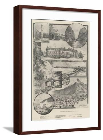 Sketches on the North-West Coast of Ireland-Joseph Holland Tringham-Framed Art Print