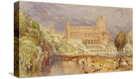 Jedburgh Abbey, C.1832-J^ M^ W^ Turner-Stretched Canvas Print