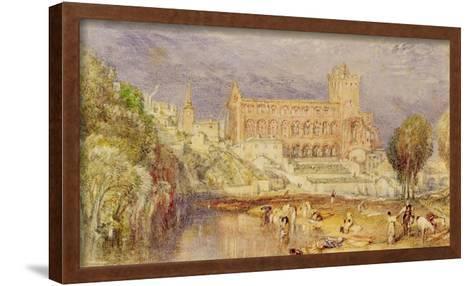 Jedburgh Abbey, C.1832-J^ M^ W^ Turner-Framed Art Print