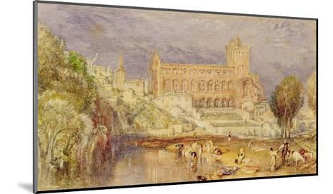 Jedburgh Abbey, C.1832-J^ M^ W^ Turner-Mounted Giclee Print