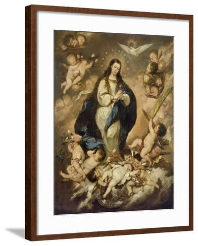 The Immaculate Conception, Late 1660s-Jose Antolinez-Framed Art Print