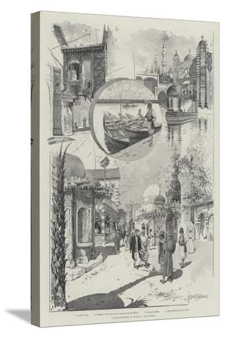 Constantinople in London, at Olympia-Joseph Holland Tringham-Stretched Canvas Print