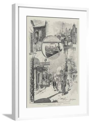 Constantinople in London, at Olympia-Joseph Holland Tringham-Framed Art Print