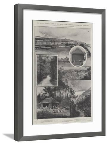 Sir Ernest Cassel's Gift to the King, Some Existing Consumption Sanatoria-Joseph Holland Tringham-Framed Art Print