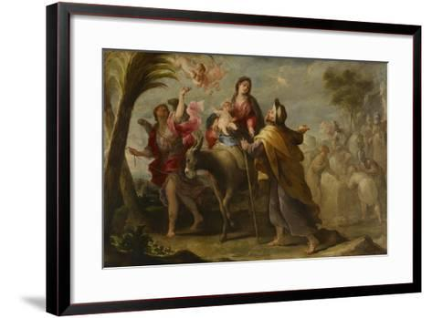The Flight into Egypt, 1669-Jose Moreno-Framed Art Print