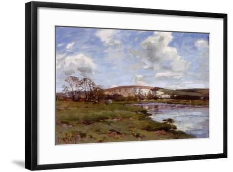A Bright Day on the Arun-Jose Weiss-Framed Art Print