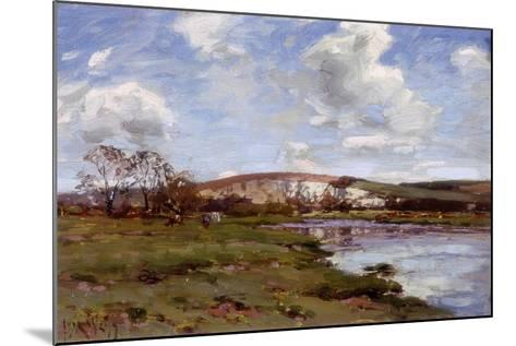 A Bright Day on the Arun-Jose Weiss-Mounted Giclee Print