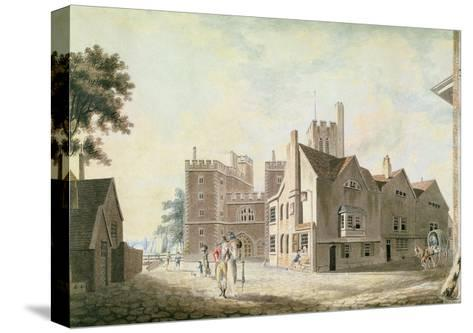 A View of the Archbishop's Palace, Lambeth, 1790-J^ M^ W^ Turner-Stretched Canvas Print
