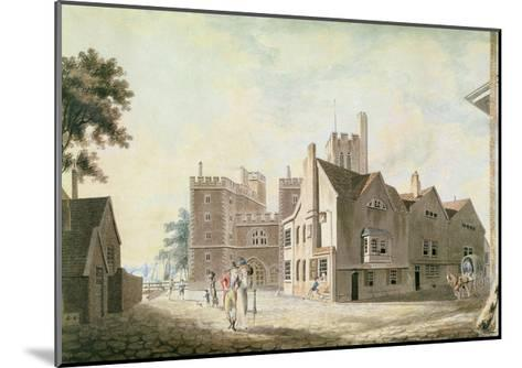 A View of the Archbishop's Palace, Lambeth, 1790-J^ M^ W^ Turner-Mounted Giclee Print