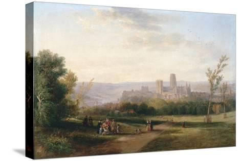 Durham, 1841-John Wilson Carmichael-Stretched Canvas Print