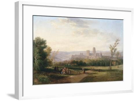 Durham, 1841-John Wilson Carmichael-Framed Art Print