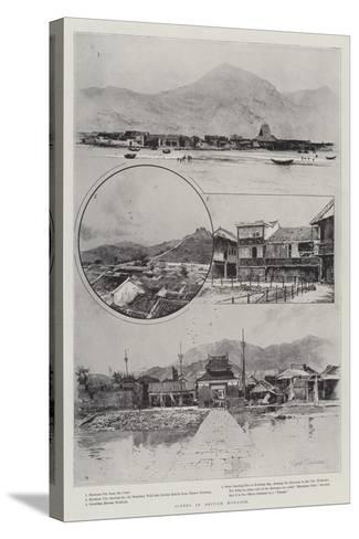 Scenes in British Kowloon-Joseph Holland Tringham-Stretched Canvas Print