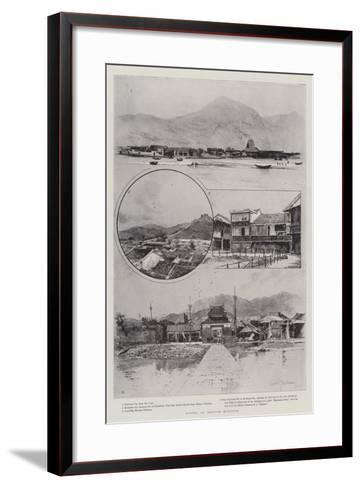 Scenes in British Kowloon-Joseph Holland Tringham-Framed Art Print