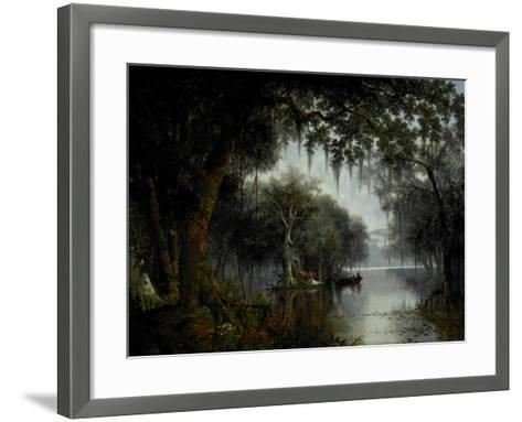 The Land of Evangeline, 1874-Joseph Rusling Meeker-Framed Art Print