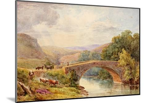 Lewisburn Bridge, North Tyne-Julia Swinburne-Mounted Giclee Print
