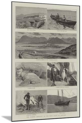 The Fishing Industry on the West Coast of Ireland-Joseph Nash-Mounted Giclee Print